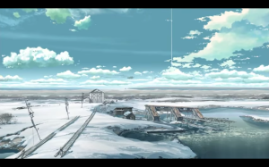 One of the opening scenery shots.